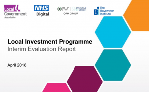 Local Government Association Local Investment Programme Interim Report