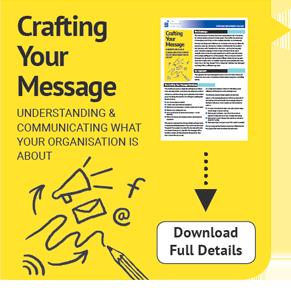 Crafting Your Message Wokshop