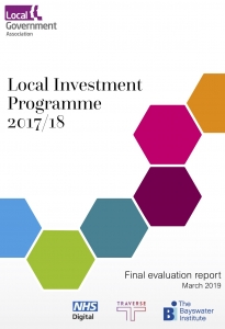 Local Investment Programme Report Evaluation Local Government Association